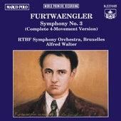 FURTWANGLER: Symphony No. 3 by RTBF Symphony Orchestra