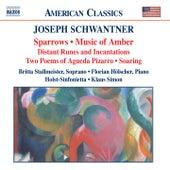 SCHWANTNER: Sparrows / Music of Amber by Holst Sinfonietta