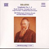 BRAHMS: Symphonies (Complete) de Belgian Radio and Television Philharmonic Orchestra