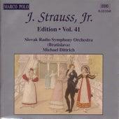 STRAUSS II, J.: Edition - Vol. 41 by Slovak Radio Symphony Orchestra