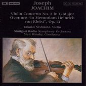 JOACHIM: Violin Concerto No. 3 /  Overture 'In Memoriam Heinrich von Kleist' di Takako Nishizaki