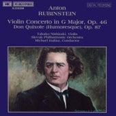 RUBINSTEIN: Violin Concerto, Op. 46 / Don Quixote, Op. 87 di Takako Nishizaki