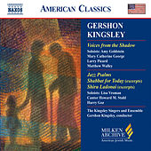 KINGSLEY: Voices from the Shadow / Jazz Psalms / Shabbat for Today by Various Artists