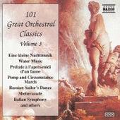 101 GREAT ORCHESTRAL CLASSICS, Vol.  3 de Various Artists