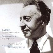 Faure: Piano Quartet No. 1, Schumann: Piano Quintet de Arthur Rubinstein