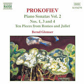 Piano Sonatas Nos. 1, 3 and 4 by Sergey Prokofiev