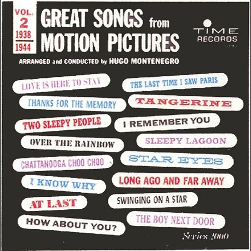 Great Songs From Motion Pictures 2 by Hugo Montenegro