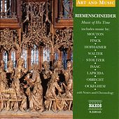 Art & Music: Riemenschneider - Music of His Time von Various Artists