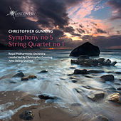 Christopher Gunning: Symphony No.5 & String Quartet No.1 by Various Artists