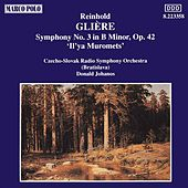 GLIERE : Symphony No. 3 In B minor, Op. 42, by Slovak Radio Symphony Orchestra