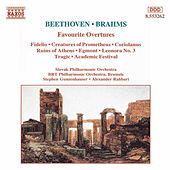 BEETHOVEN / BRAHMS: Favourite Overtures de Slovak Philharmonic Orchestra