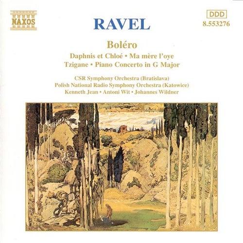 RAVEL: Bolero / Daphnis et Chloe / Piano Concerto / Ma mere l'oye by Various Artists