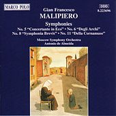 MALIPIERO: Symphonies Nos. 5, 6, 8 and 11 by Moscow Symphony Orchestra