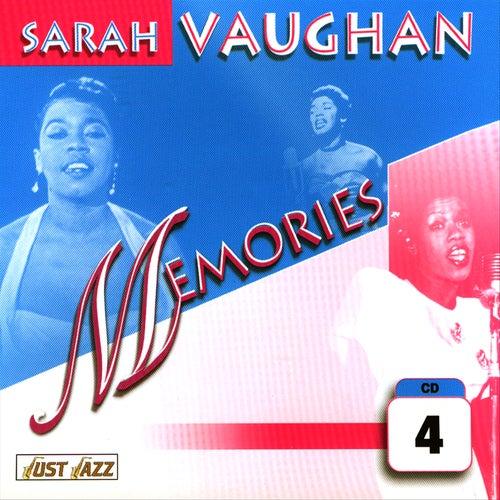 Memories Vol. 4 by Sarah Vaughan