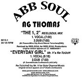 The 1, 2 b/w Everyday Girl Remixes by Various Artists