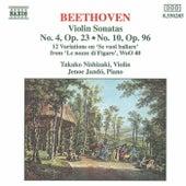 Violin Sonatas Opp. 23 and 96 di Ludwig van Beethoven