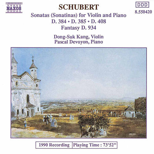 Sonatas (Sonatinas) for Violin and Piano by Franz Schubert