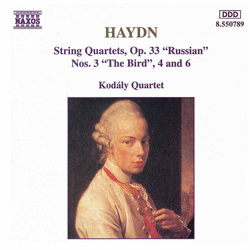 String Quartets, Op. 33, Nos. 3, 4 and 6 by Franz Joseph Haydn