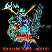 Ten Black Years - Best Of by Sodom