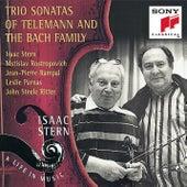 The Bachs/Telemann: Trio Sonatas by Isaac Stern