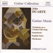 Guitar Music by John Duarte