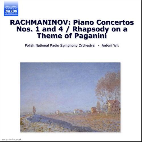 Piano Concertos Nos. 1 and 4 by Sergei Rachmaninov
