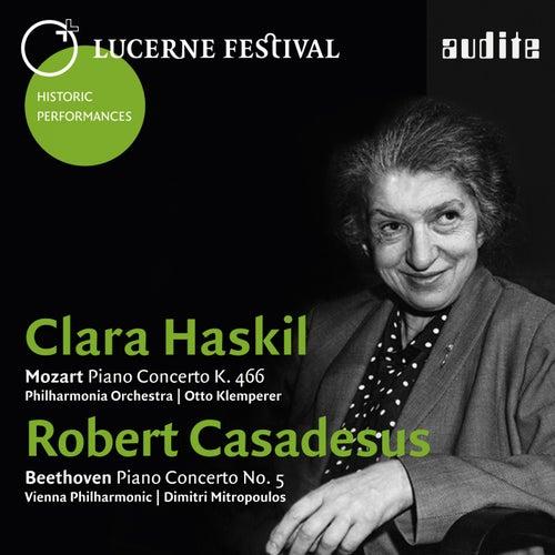 Lucerne Festival Historic Performances, Vol. I (Mozart: Piano Concerto K. 466 - Beethoven: Piano Concerto No. 5 'Emperor') by Clara Hasikl
