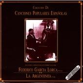 Colección De Canciones Populares Españolas by Federico García Lorca