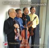 Shostakovich String Quartets Nos. 3, 14 & 15; Quintet in G minor von Juilliard String Quartet