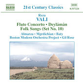 VALI: Flute Concerto / Deylaman / Folk Songs (Set No. 10) by Various Artists