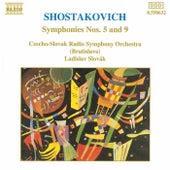 SHOSTAKOVICH: Symphonies Nos. 5 and 9 by Slovak Radio Symphony Orchestra