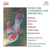 Music for Saxophone and Orchestra de Theodore Kerkezos