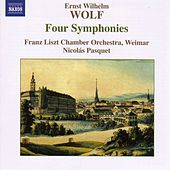 WOLF, E.W.: 4 Symphonies von Emanuel Ax; Franz Liszt Chamber Orchestra