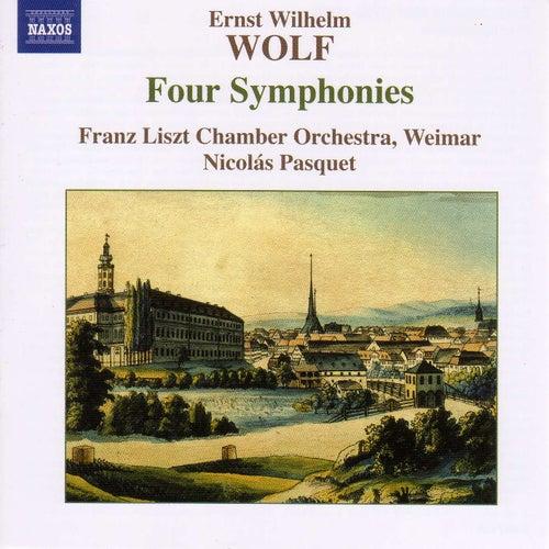 WOLF, E.W.: 4 Symphonies by Emanuel Ax; Franz Liszt Chamber Orchestra