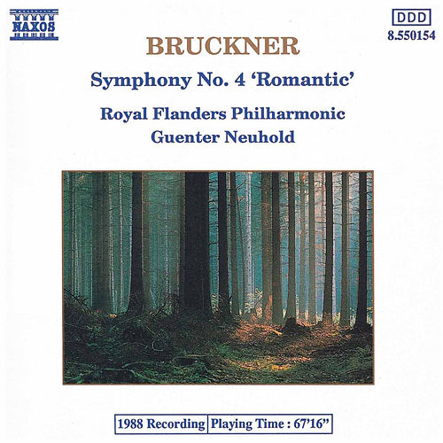 BRUCKNER: Symphony No. 4, 'Romantic', WAB 104 by Royal Philharmonic Orchestra