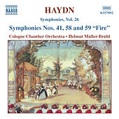 HAYDN: Symphonies Nos. 41, 58 and 59 by Cologne Chamber Orchestra