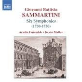 SAMMARTINI, G.B.: Symphonies J-C 4, 9, 16, 23, 36, 62 by Aradia Ensemble