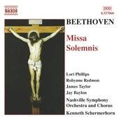 BEETHOVEN: Missa Solemnis, Op. 123 by Nashville Symphony Orchestra