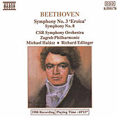 BEETHOVEN: Symphonies Nos. 3 & 8 by Slovak Radio Symphony Orchestra