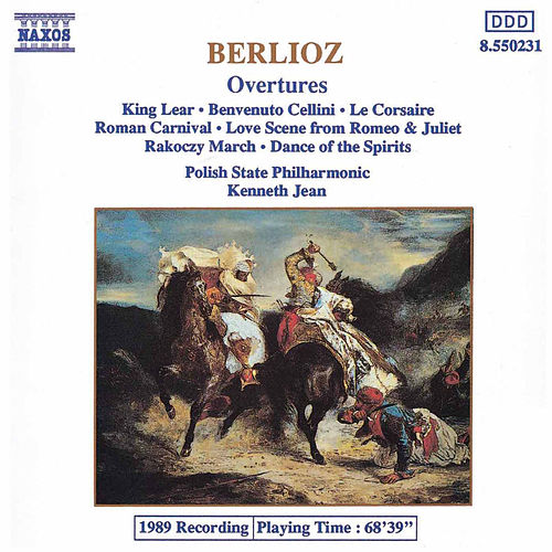 BERLIOZ: Overtures by Polish State Philharmonic Orchestra