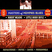 Masters Of Memphis Blues, CD D by Various Artists