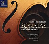 Bach: Sonatas for Viola Da Gamba de Audrey Cienniwa