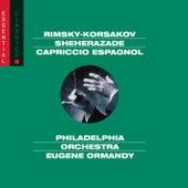 Rimsky-Korsakov: Scheherazade; Russian Easter Overture & Capriccio Espagnol by Eugene Ormandy