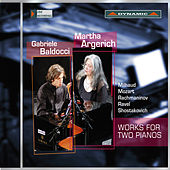 Works for Two Pianos von Martha Argerich