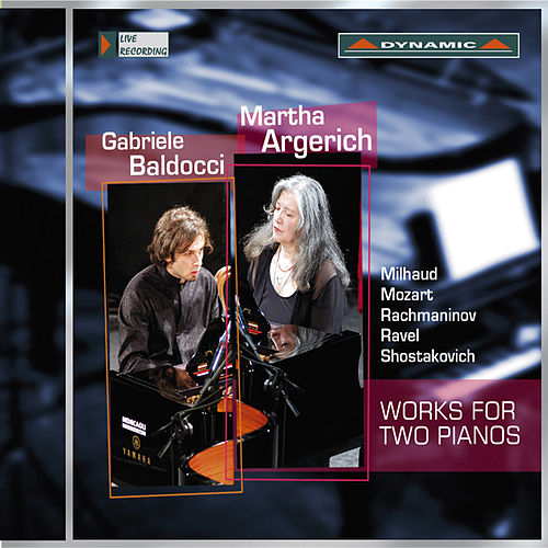 Works for Two Pianos by Martha Argerich
