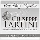 Piano Accompaniments for Giuseppe Tartini Violin Sonata in G Minor