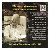 The Great Conductors: Tribute to Paul Hindemith: Symphonische Tänze from