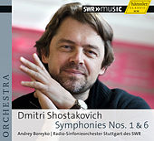 Shostakovich: Symphonies Nos. 1 & 6 by Stuttgart Radio Symphony Orchestra