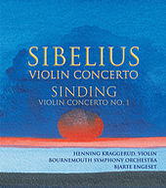 Sibelius: Violin Concerto / Sinding: Violin Concerto No. 1 von Henning Kraggerud