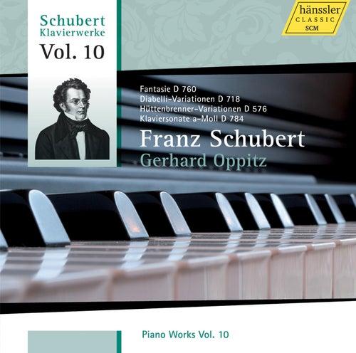 Schubert: Piano Works, Vol. 10 by Gerhard Oppitz